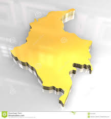 Map Of Colombia 3d Golden Map Of Colombia Stock Illustration Image Of Kingdom