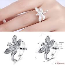 Esszimmerst Le Neu Ebay 1stk Damen Silber Ring Band Ringe Breit öffnen Fingerringe