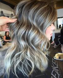blonde streaks for greying hair 40 shades of grey silver and white highlights for eternal youth