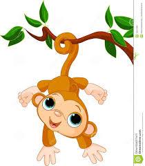 monkey in tree clipart