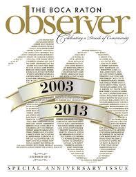 boca raton observer december 2013 by boca raton observer issuu