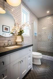 slate tile bathroom ideas bathroom design beveled subway tile backsplash metro tiles