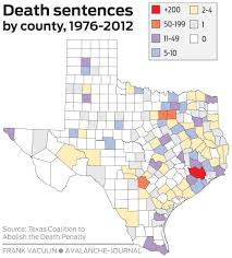 Death Penalty States Map by Four Local Inmates Linked By One Three Digit Number Waiting On