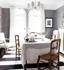 gray french country dining room love that you can see the lines