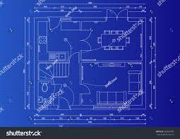 house blue print house blueprint plan stock illustration 286667900 shutterstock
