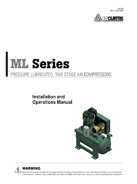 curtis ml air compressor series manual valve gas compressor