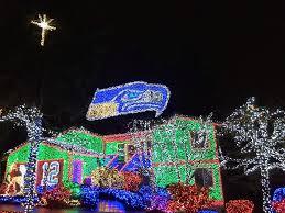 christmas house lights to music christmas lights decoration