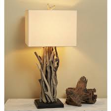 Bird And Branch Table Lamp by Rustic Table Lamps Shades Of Light