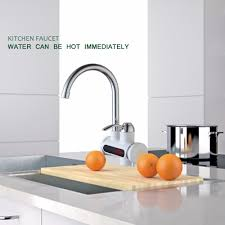 popular electric water faucet kitchen buy cheap electric water instant tankless water heater tap instantaneous faucet kitchen water heater crane instant hot water faucet with