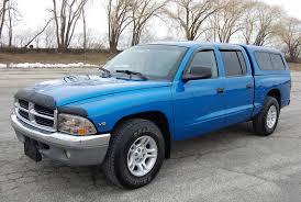 01 dodge dakota cab 2001 dodge dakota slt crew cab 4d leer topper truck