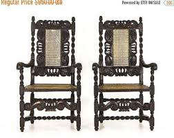 2 Armchairs Antique Chairs Etsy