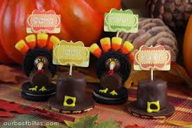 16 edible thanksgiving crafts table decorations delish