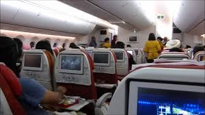 Air India Seat Map by Whole Flight Air India Boeing 787 8 Dreamliner Youtube