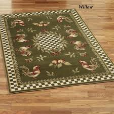Rooster Rugs For The Kitchen Kitchen Fascinating Dark Brown Kitchen Rug With Purple Grape