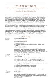 Retail Sales Assistant Resume Sample by Customer Service Advisor Resume Samples Visualcv Resume Samples