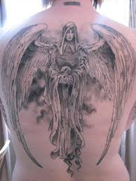 50 holy angel tattoo designs inspirefirst
