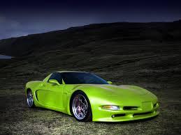 corvette stingray green wittera chevrolet corvette c5 car tuning