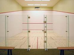 Glass Back by Squash Court Glass Back Wall Manufacturer From Mumbai