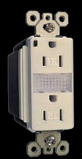 receptacle cover night light powersure power failure night lights ter resistant receptacle