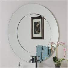 bathroom bathroom wall mirror sherise brushed nickel oval mirror