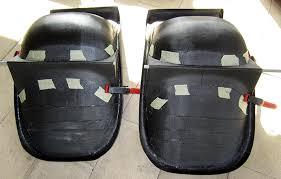 sièges et supports avion gaz aile 2 ulm
