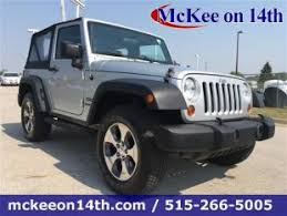 used jeep wrangler for sale in iowa used jeep wrangler for sale in des moines ia cars com
