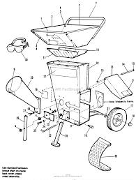 simplicity 9007912 baker chipper shredder 912 8p parts diagrams