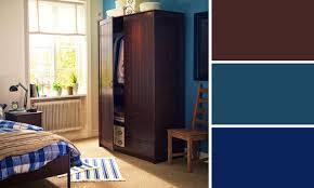 chambre marron et turquoise déco chambre marron et bleu 07 lyon 16032001 angle