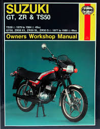 suzuki gt zr u0026 ts50 77 90 haynes repair manual haynes