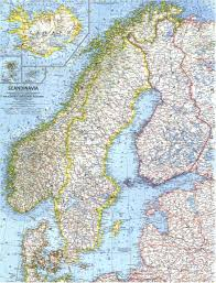 Scandinavia Blank Map by Index Of Medomys Mapky Prac