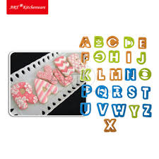online shop 26pcs set alphabet mold cookie cutter set baking