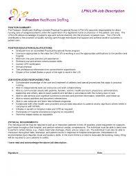 Resume Entry Level Examples Cover Letter Lvn Resume Sample Free Lvn Resume Sample New Lvn