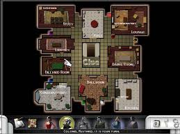 clue mansion floor plan clue murder at boddy mansion screenshots images and pictures