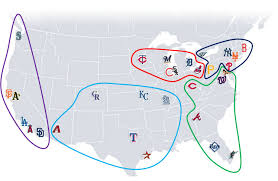 Nfl Usa Map by By Divine Right How The Sports World Would Look If I Were King