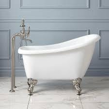 bed u0026 bath bathroom design with small bathtubs and freestanding