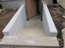 fresh concrete basement stairs good home design simple on concrete