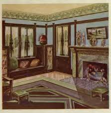 344 best house interiors early 1900s images on pinterest
