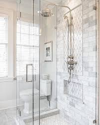 Subway Tiles In Bathroom Fantastic Carrara Tile Bathroom And Best 25 Marble Tile Bathroom