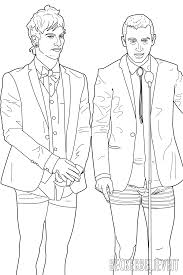 here the twenty one pilots fall out boy u0026 all time low coloring