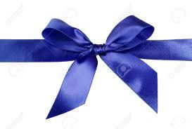 satin ribbon bows blue gift satin ribbon bows on white background stock photo