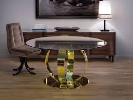 nella vetrina andrew contemporary italian designer round dining table