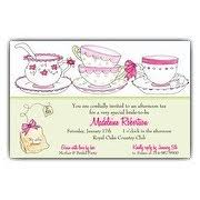 bridal tea party invitation bridal tea invitations paperstyle