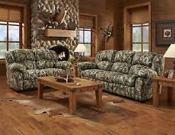 oak livingroom furniture mossy oak 3pc camouflage reclining sofa set w recliner