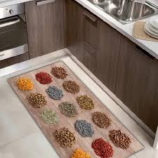 passatoie tappeti tappeto passatoia cucina kitch ecologico in microciniglia con