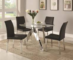 glass dining room table set glass dining room table guide top sets regarding designs 15