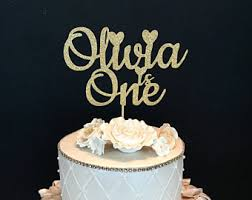 one cake topper one cake topper etsy