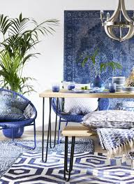 how to work blue into your home decor bt