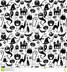 black and white halloween background black and white seamless background abstract pattern for hallowe