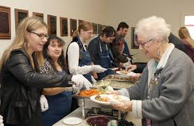 a time to shine developmentally disabled adults cook dinner and