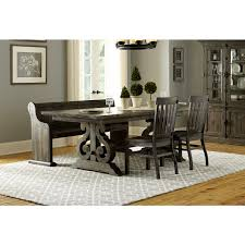 Weathered Wood Dining Table Magnussen Dining Room Furniture Delectable Inspiration Abington